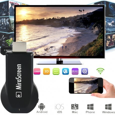 Adaptador HDMI Multimedia Dongle TV