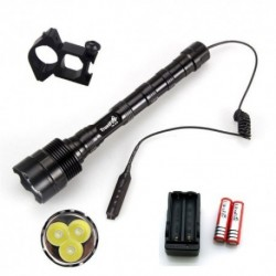 Linterna LED Trustfire 3800 Lumenes Pack de Caza