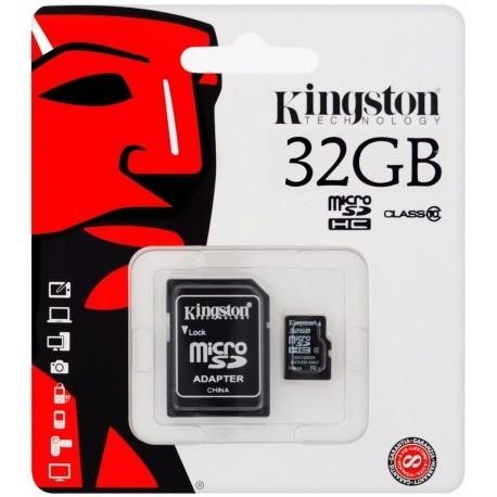 Tarjeta Micro SD 32 Gb Kingston