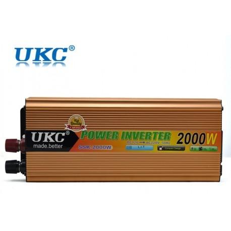 Transformador Inverter 12V/220V 2000W