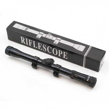 Mira Telescopica Rifle 4x20
