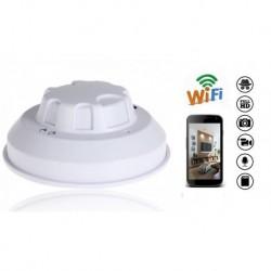 Detector de Humo Camara Espia HD Wifi