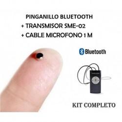 Pinganillo con Transmisor Bluetooth