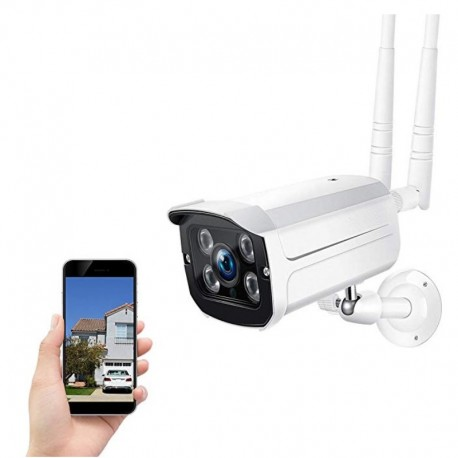 Camara IP HD Vision Nocturna Wifi Impermeable