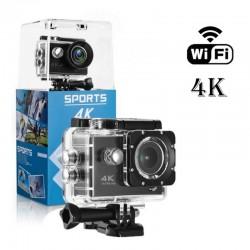 Camara Deportiva Acuatica 4K Ultra HD 12 Megapixeles Wifi