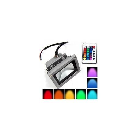 Foco LED 16 Colores RGB 10w